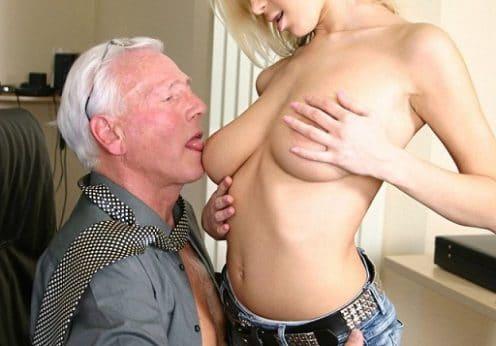 Sex mit einem Rentner